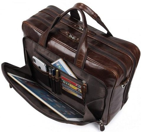 Augus Leather Briefcases