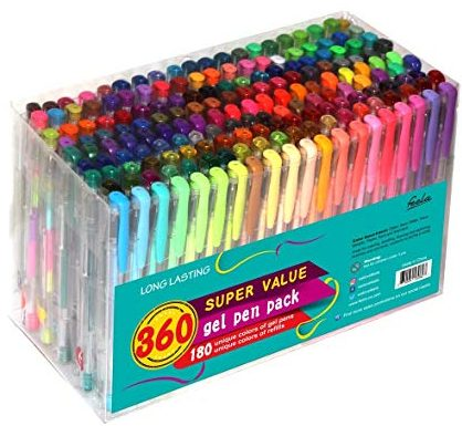 Feela 360 Colors Gel Pens