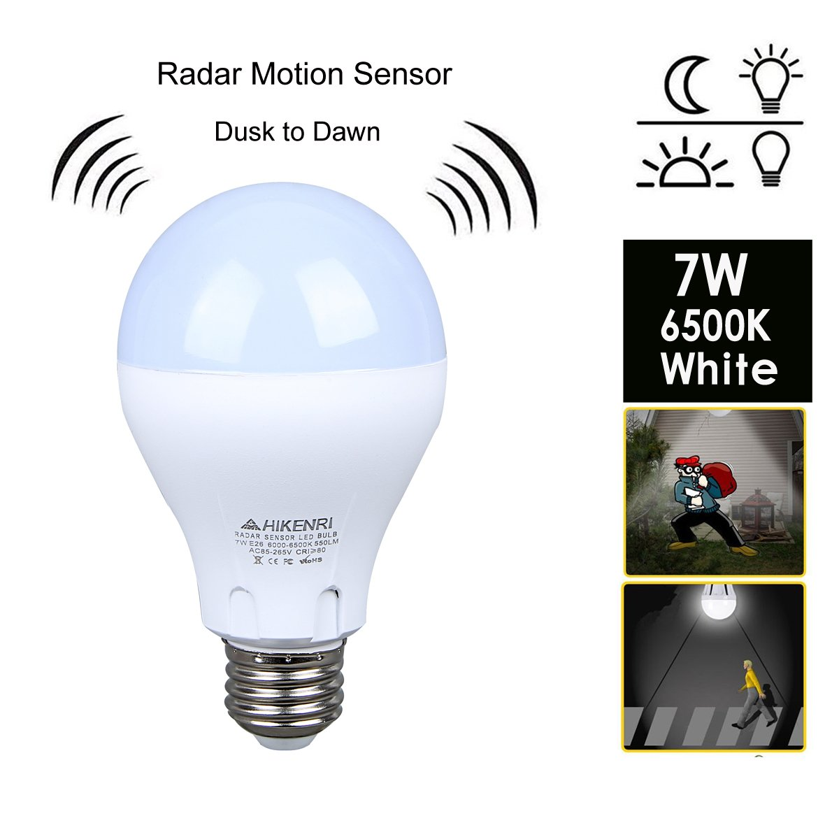 Top 5 Best Light Sensor Light Bulbs In 2020 Review