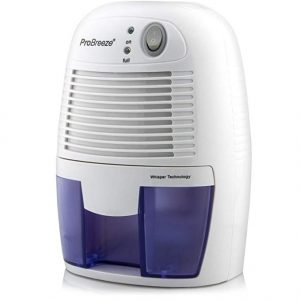 9. Pro Breeze Electric Mini Dehumidifier