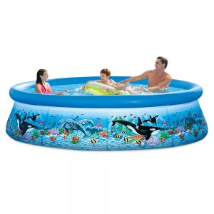 Intex Inflatable Swimming Pools for Adult - Pool Set with Filter Pump