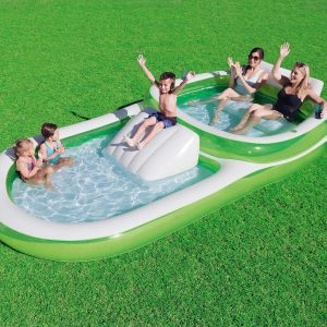 Bestway H2OGO! Two-In-One Wide Inflatable Swimming Pools for Adult