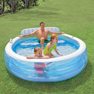 Intex Inflatable Swimming Pools for Family Lounge Pool