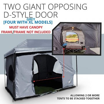 Standing Room Tents Cabin Tents for Family