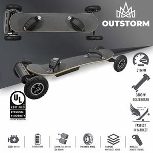 15. SuperbProductions Off-Road Electric Skateboard