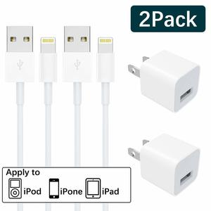 3. WUXIANMN iPhone charging USB Wall Adapter