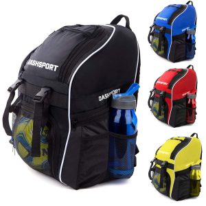 6. DashSport Soccer Backpack - Youth Kids Ages 6 and Up - All Sports Bag Gym