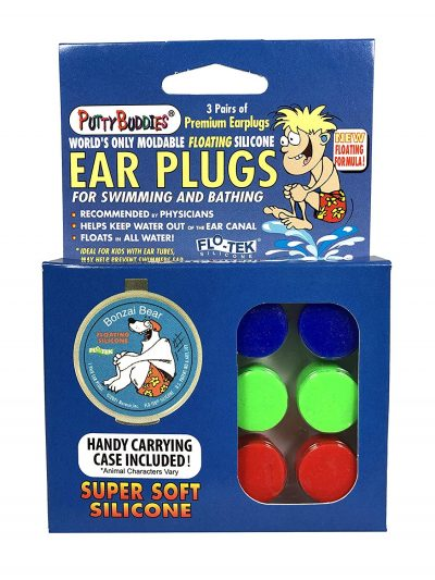 PUTTY BUDDIES Floating Earplugs 3-Pair Pack