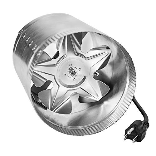 iPower GLFANXBOOSTER6 6 Inch 240 CFM Booster Fan