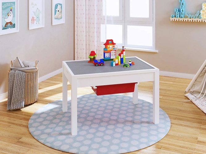 UTEX 2-in 1 Kids Large Table