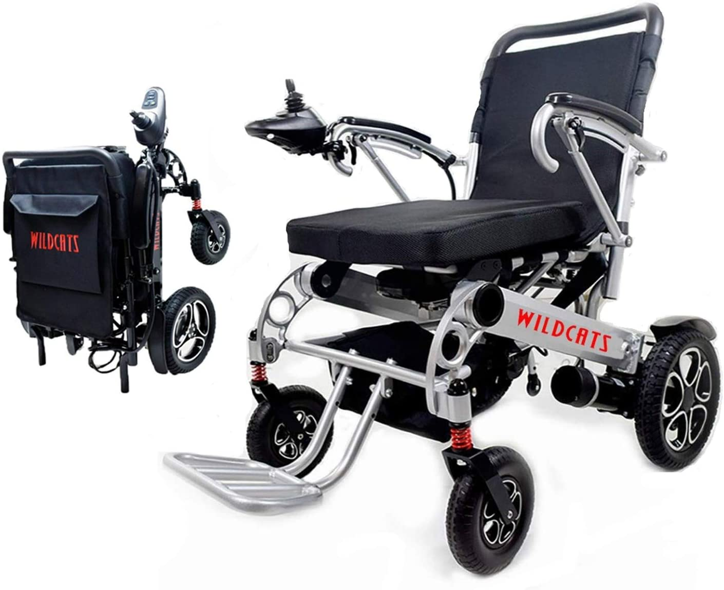 Rubicon Best Rated Exclusive Dual Motors Deluxe Electric Wheelchair