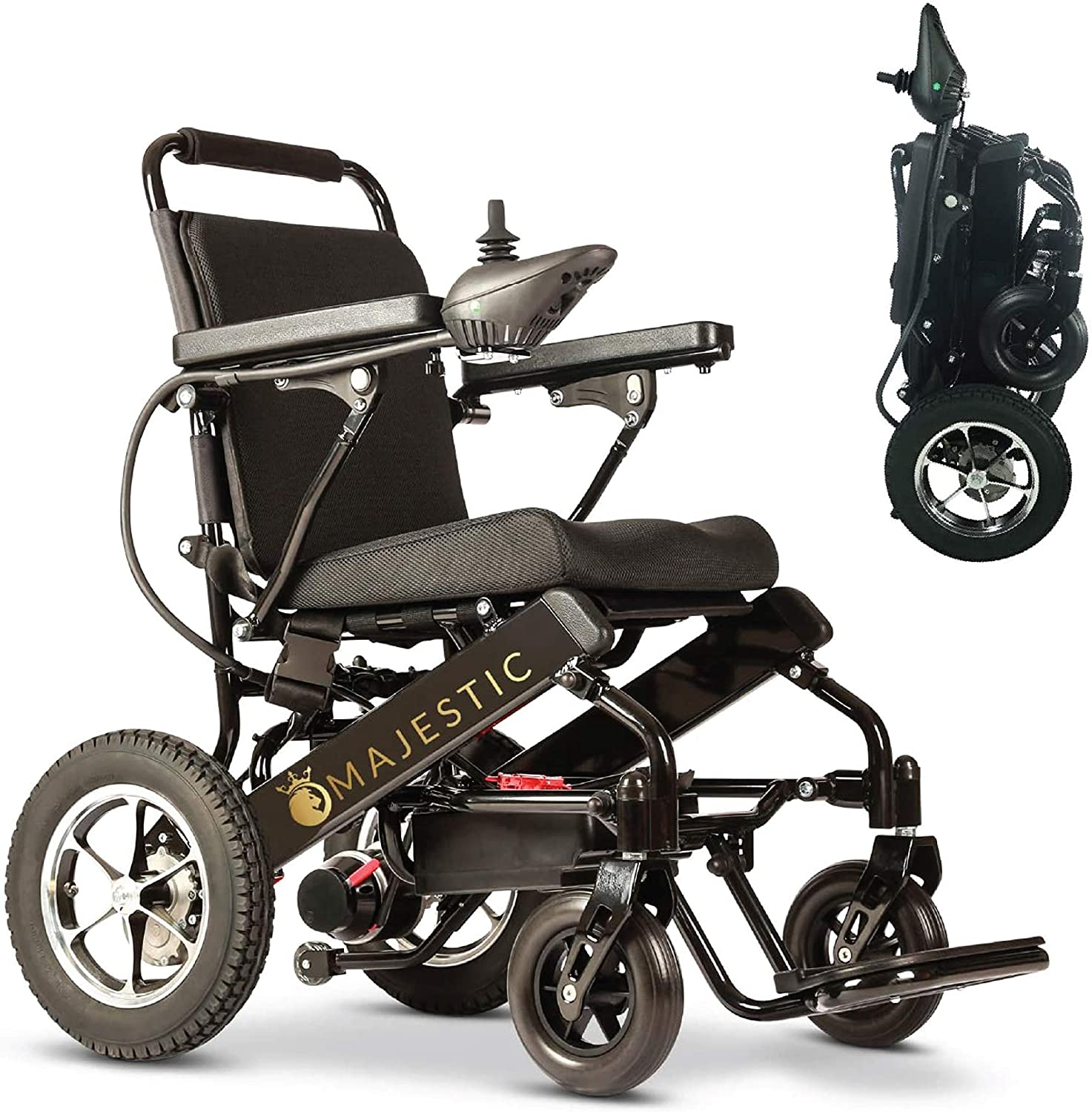 2021 Deluxe Electric Wheelchair with Bluetooth Remote Control