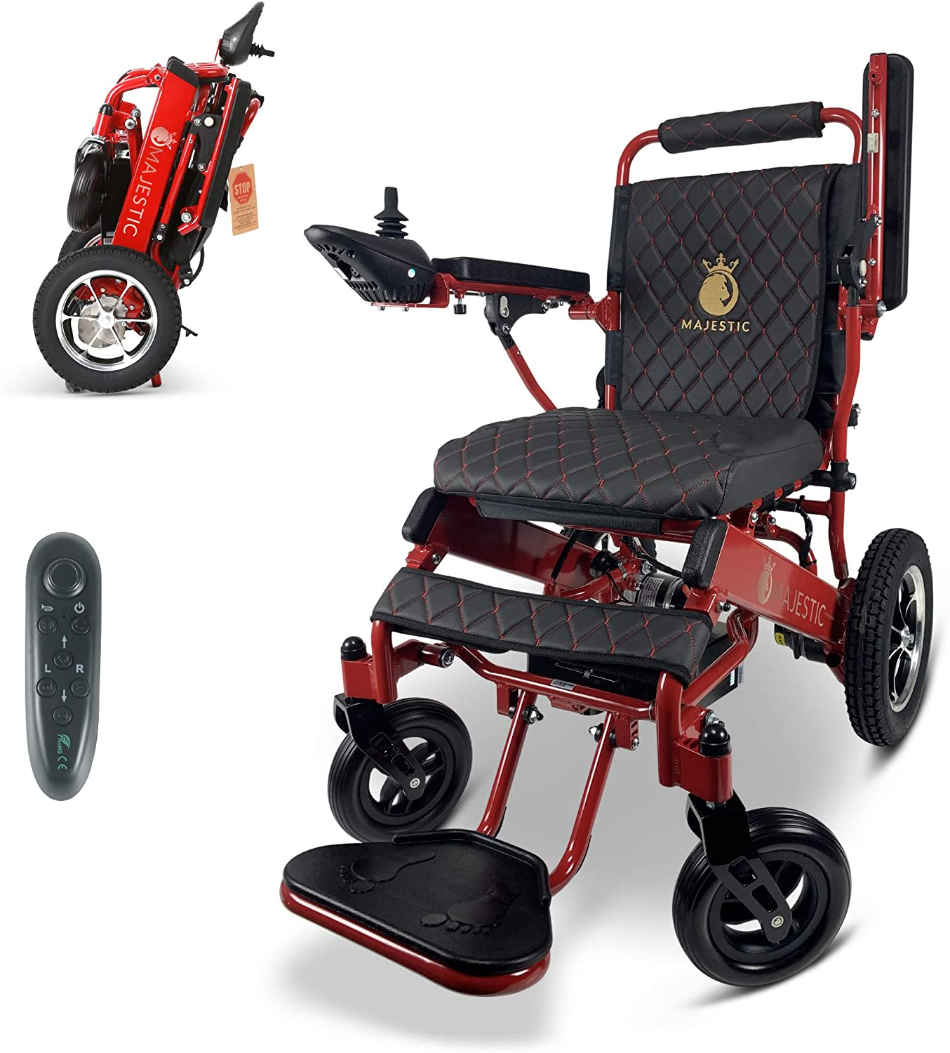 New Remote Control Electric Wheelchairs